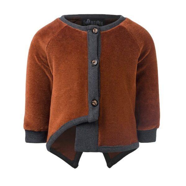 Copper Velvet Jacket