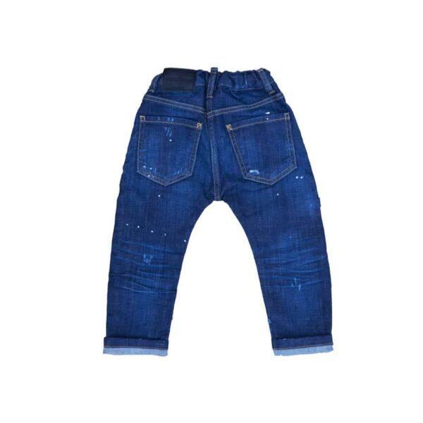 Dark Blue Stretch Jeans