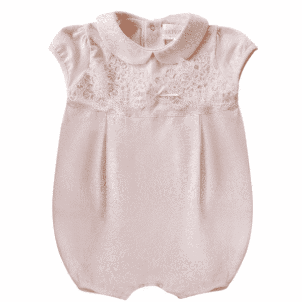 Rose Body with Lace Embroidery